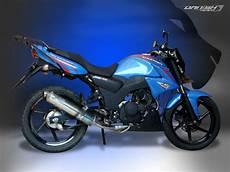 Modifikasi Motor Thunder 125 Touring by Kumpulan Mofifikasi Suzuki Thunder 125