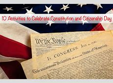 constitution day interactive activities