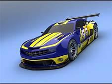 Camaro ALMS Blau Und Gelb Hintergrundbilder