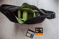 gear review lowepro passport sling camera bag