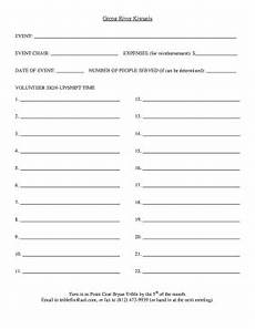 29 printable club sign up sheet template forms fillable sles in pdf word to download