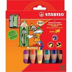stabilo multitalentstift woody 3 in 1 6er karton etui