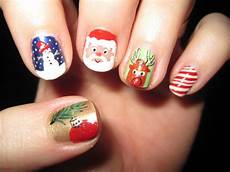 best easy lovely christmas nail designs diy nail art