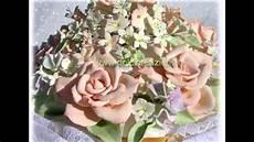 come fare i fiori con la pasta di zucchero cake topper fiori in porcellana fredda