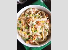 chicken egg noodle casserole