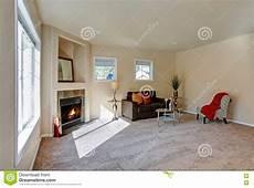 typisch amerikanisches wohnzimmer typical american living room interior design stock photo