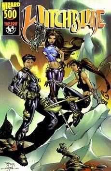 witchblade volume comic vine