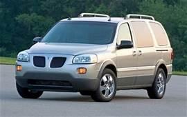 2005 Pontiac Montana SV6  Overview CarGurus