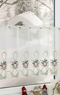 weihnachts scheibengardinen scheibengardinen f 252 r weihnachten im raumtextilienshop
