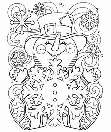 happy snowman coloring page crayola