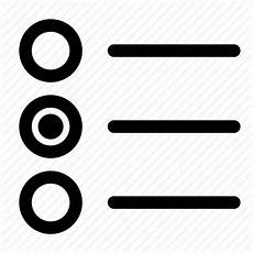 control form input interface radio button icon