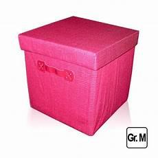 22 5 liter aufbewahrungsbox deckel rosa faltbox spielkiste