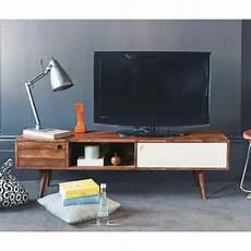 meuble tele scandinave maison du monde meuble tv vintage en sheesham need meuble tv tv