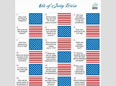 kids 4th of july trivia