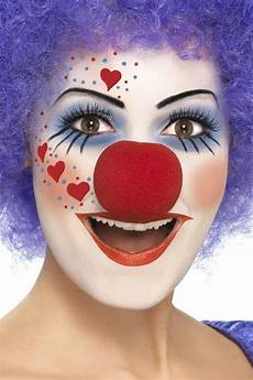 Fasching Make Up Im Letzten Moment Clown Schminken