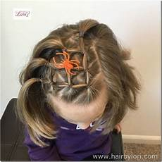 elastic spider web hairstyle wacky hair girl hair dos hair styles