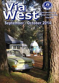 viawest september october 2014 by vw club of wa inc issuu
