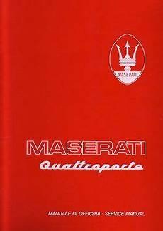 motor repair manual 1985 maserati quattroporte electronic valve timing the maserati library