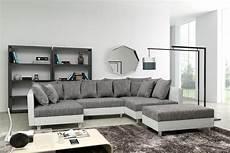 sofa couch ecksofa eckcouch in weiss hellgrau eckcouch