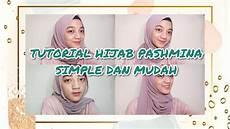 Tutorial Daily Pashmina Simple Dan Mudah