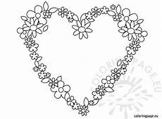flowers coloring coloring page