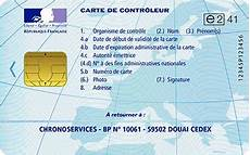 chronoservices carte conducteur suivi chronoservices contr 244 leur