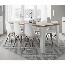 table style scandinave table lier couleur blanc et bois style scandinave