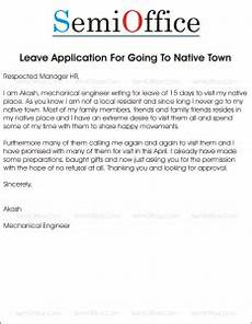 leave application to go place