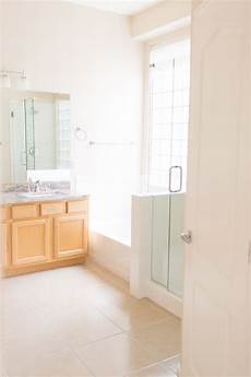 Bathroom Before And After Modern by Modern Master Bathroom Remodel Before And After The Posh Home