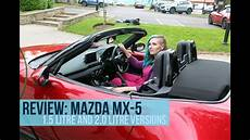 mazda mx 5 versions review new mazda mx 5 sports car 1 5 and 2 0 litre versions road trip episode 5