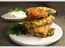 cheesy quinoa and broccoli patties_image