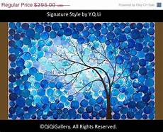 Vier Jahreszeiten Malvorlagen Verse Tree Painting Four Season Tree Original Artwork Gift For