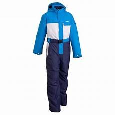 wed ze wed ze evoslide boys ski suit blue white