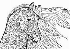 Ausmalbilder Pferde Gratis Ausdrucken Pferde Mandalas Zum Ausdrucken Sch 246 N Ausmalbilder