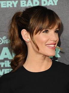 Ponytail With Fringe Hairstyles