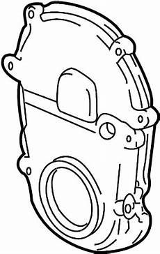 2004 yukon xl engine diagram gmc yukon xl 2500 engine timing cover front 8 1 liter 8 1 liter gas all models 12589846