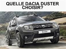 Quelle Dacia Duster Choisir