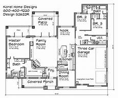 2600 sq ft house plans 2 600 sq ft with 3 car garage and jack and jill bathroom