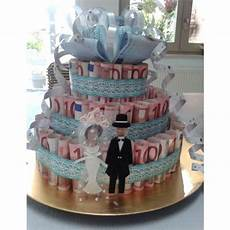 Money Cake Wedding Gift Geldtaart Leuk Idee Als