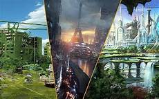 21 Visions Artistiques Des 171 Villes Du Futur