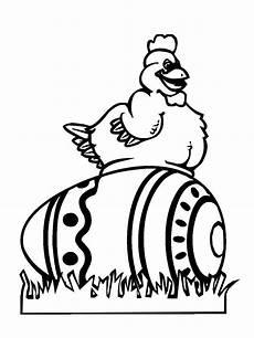 Ostern Malvorlagen Quiz Kostenlose Malvorlage Ostern Henne Auf Dem Osterei Zum