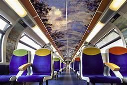 Frances Public Trains Bring Impressionist Art To Commuters
