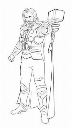 Ausmalbilder Superhelden Thor Ausmalbilder Thor Ausmalbilder Marvel