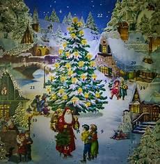 Adventskalender Nostalgie Foto Bild Gratulation Und