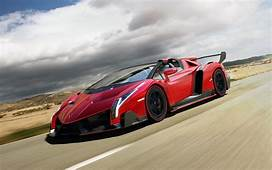 2014 Lamborghini Veneno Roadster Wallpaper  HD Car