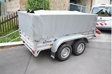 Pkw Anhänger Gebraucht Gebremst - pkw anh 228 nger aluminium doppelachser gebremst in uetze