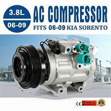 automobile air conditioning service 2006 kia sorento navigation system air conditioning compressor with clutch fit kia sorento 2006 2007 2008 2009 new ebay