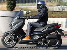 Essai Yamaha X Max 125 Abs Iron Max 2016 Scooter