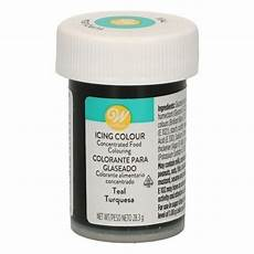 colorant gel bleu turquoise teal icing color wilton