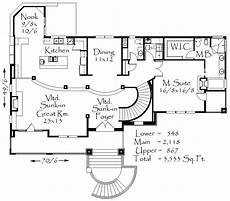uphill slope house plans main floor beautiful house plans house plans